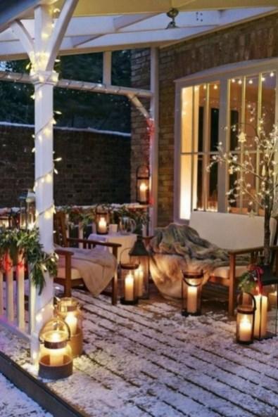 Elegant Christmas Lights Decor For Backyard Ideas 10