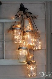 Elegant Christmas Lights Decor For Backyard Ideas 24