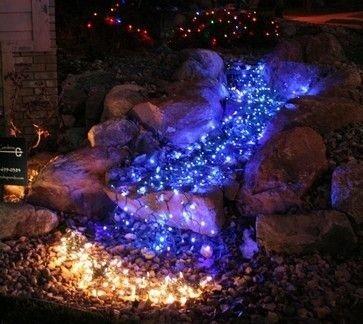 Elegant Christmas Lights Decor For Backyard Ideas 42