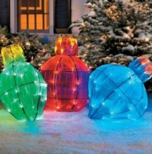 Extraordinary Outdoor Light Christmas Ideas 11