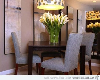 Luxurious Small Dining Room Decorating Ideas 03
