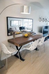 Luxurious Small Dining Room Decorating Ideas 13