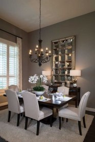 Luxurious Small Dining Room Decorating Ideas 28