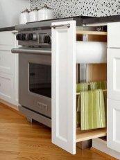 Minimalist Kitchen Area Firm And Diy Storage Ideas 37