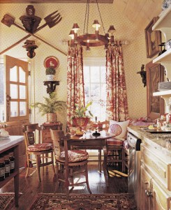 Newest French Country Kitchen Decoration Ideas 01