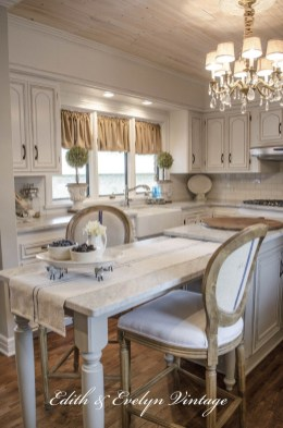 Newest French Country Kitchen Decoration Ideas 15