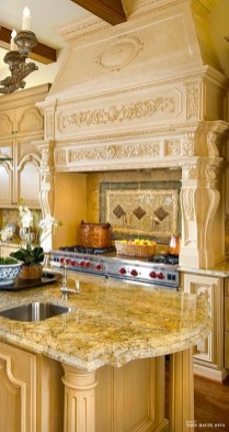Newest French Country Kitchen Decoration Ideas 17