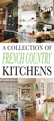 Newest French Country Kitchen Decoration Ideas 33