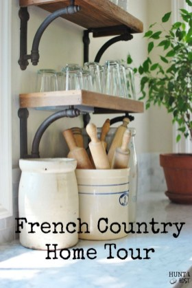 Newest French Country Kitchen Decoration Ideas 41