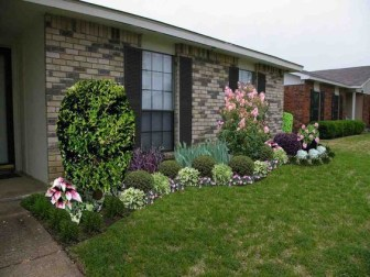 Pretty Colorful Winter Plants And Christmas For Frontyard Decoration Ideas 03