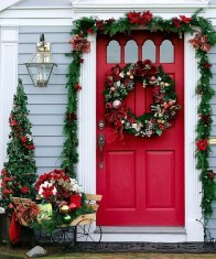 Pretty Colorful Winter Plants And Christmas For Frontyard Decoration Ideas 31