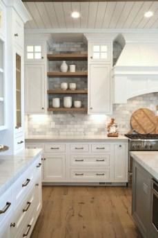 Pretty Farmhouse Kitchen Makeover Ideas On A Budget 24