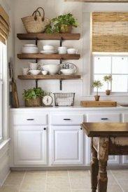Pretty Farmhouse Kitchen Makeover Ideas On A Budget 34