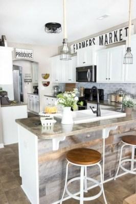 Pretty Farmhouse Kitchen Makeover Ideas On A Budget 38