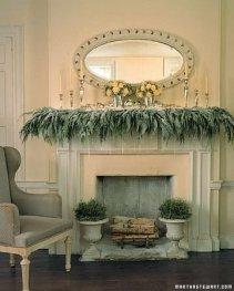 Stunning Fireplace Mantel Decor For Christmas Ideas 04
