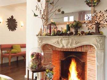 Stunning Fireplace Mantel Decor For Christmas Ideas 29
