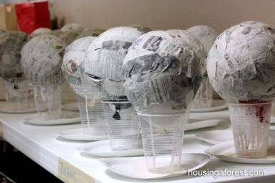 Stunning Paper Mache Ideas For Christmas 30