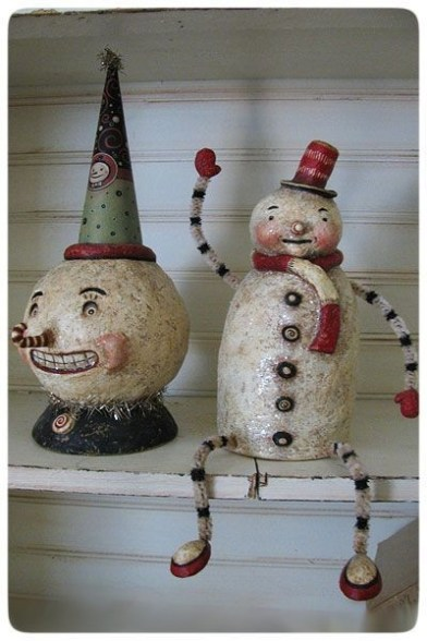 Stunning Paper Mache Ideas For Christmas 38