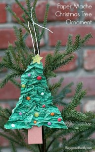 Stunning Paper Mache Ideas For Christmas 43