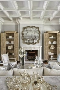 Stylish French Country Living Room Design Ideas 19