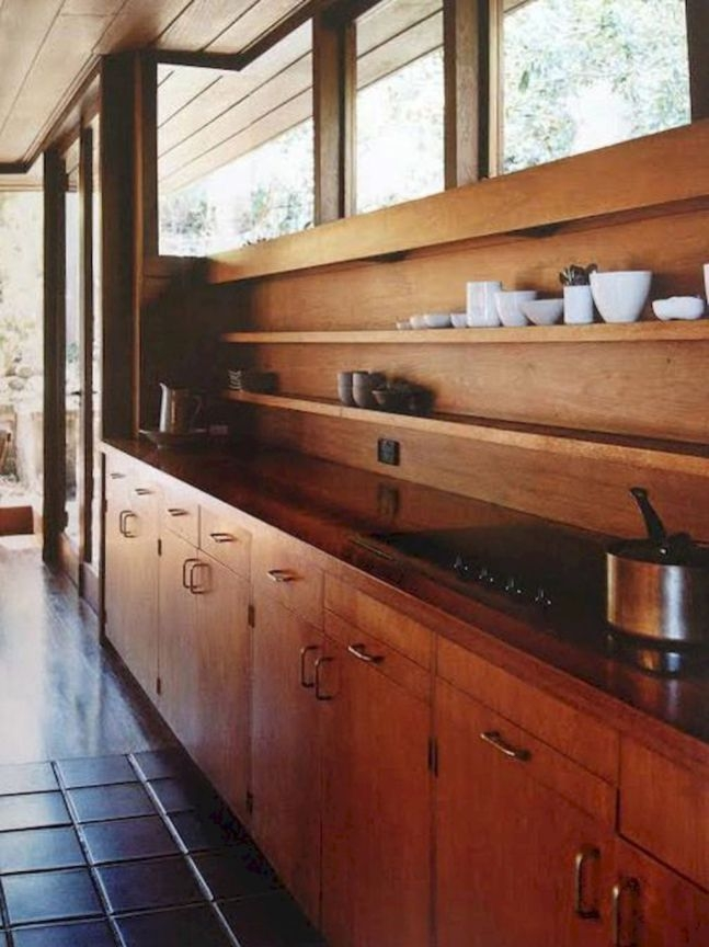 Attractive Mid Century Kitchen Designs Ideas32