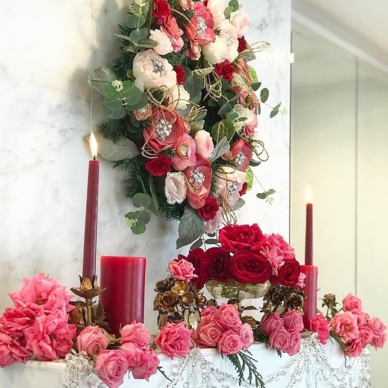 Awesome Flower Decoration Ideas For Valentines Day 23