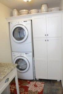 Best Small Laundry Room Design Ideas38
