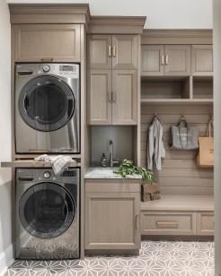 Best Small Laundry Room Design Ideas42
