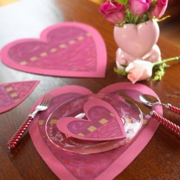 Cheap Valentine Table Decoration Ideas07