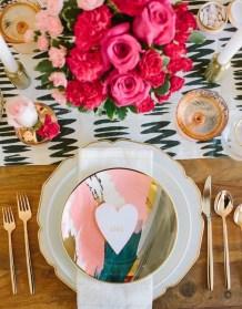 Cheap Valentine Table Decoration Ideas29