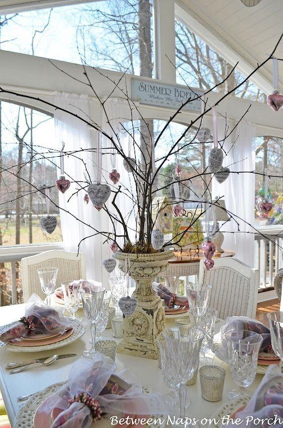 Cheap Valentine Table Decoration Ideas42