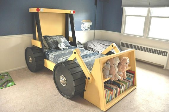Gorgeous Diy Kids Car Bed Ideas33