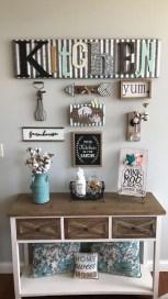 Pretty Farmhouse Kitchen Decoration Ideas38