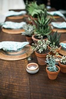 Wonderful Cactus Centerpieces Ideas37