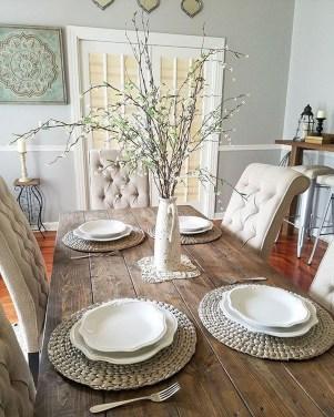 Adorable Farmhouse Dining Room Design Ideas29