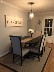Adorable Farmhouse Dining Room Design Ideas32