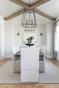 Adorable Farmhouse Dining Room Design Ideas35