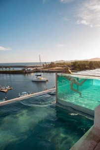 Amazing Glass Pool Design Ideas For Home22