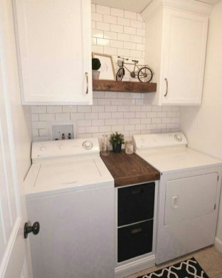 Brilliant Small Laundry Room Decor Ideas24