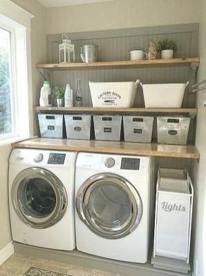 Brilliant Small Laundry Room Decor Ideas32