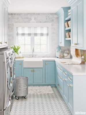 Brilliant Small Laundry Room Decor Ideas34