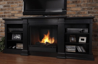 Cool Electric Fireplace Designs Ideas For Living Room05