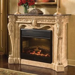 Cool Electric Fireplace Designs Ideas For Living Room19