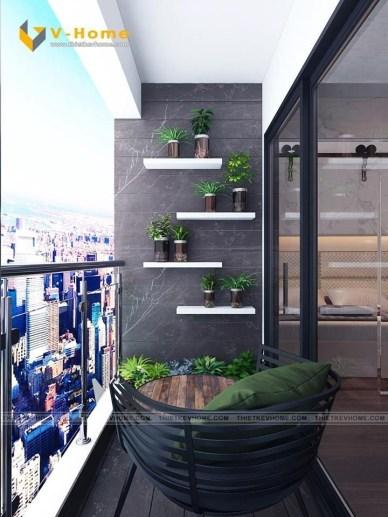 Enchanting Apartment Balcony Decorating Ideas34