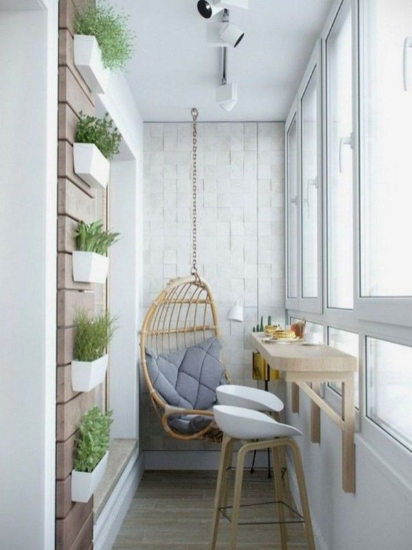 Enchanting Apartment Balcony Decorating Ideas39