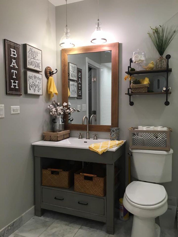 49 Incredible Small Bathroom Remodel Ideas - ZYHOMY