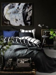 Lovely Masculine Boho Bedroom Designs27