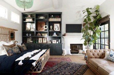 Lovely Masculine Boho Bedroom Designs28