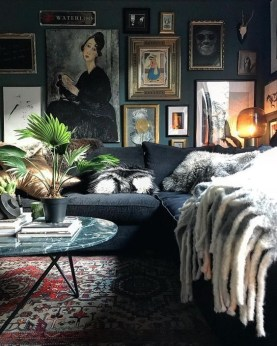 Lovely Masculine Boho Bedroom Designs32