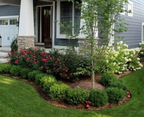 Minimalist Front Yard Landscaping Ideas On A Budget04